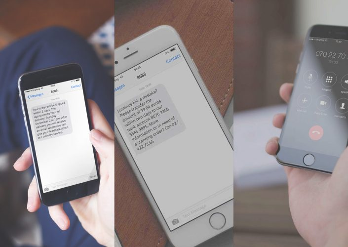 customer survey via IVR, SMS and e-mail