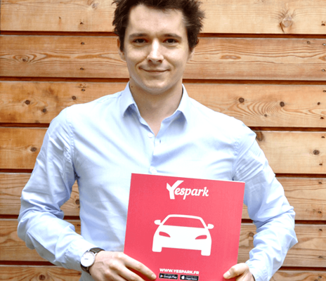 Vincent Lefeuvre - start-up Yespark