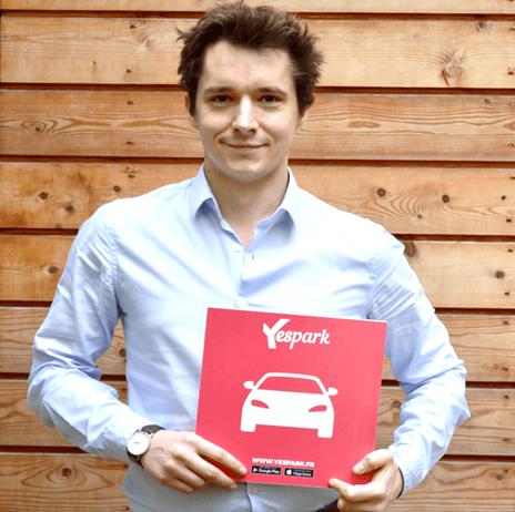 Vincent Lefeuvre - start-up Yespark