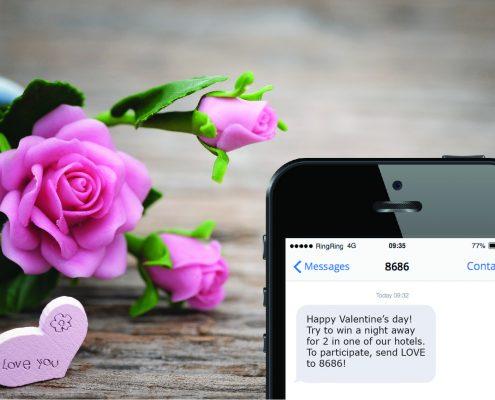 Valentine's day SMS