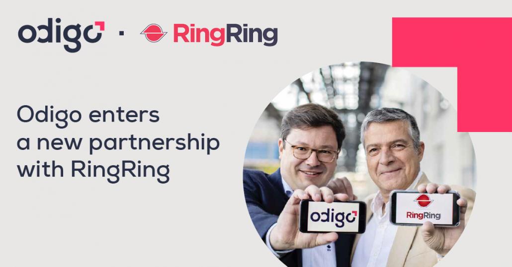 RingRing and Odigo forms a new partnership